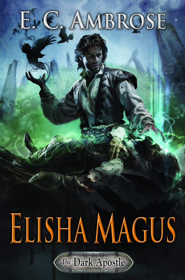 Cover of Elisha Magus, by amazing artist, Cliff Nielsen