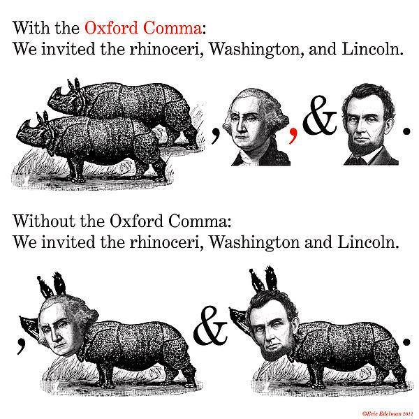 rhinoceri-washington-lincoln-oxford-serial-comma